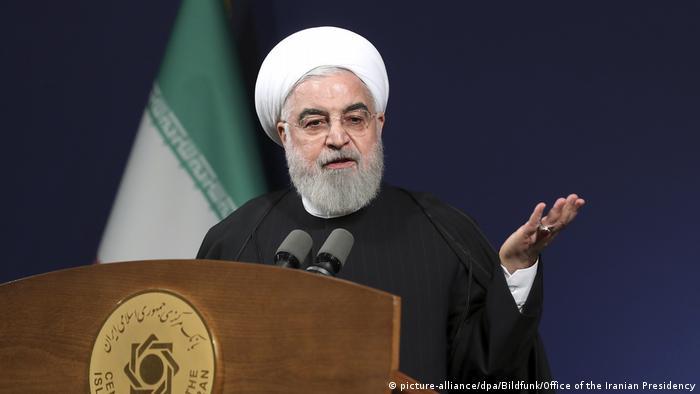 Iran will nicht komplett aus Atomabkommen aussteigen (picture-alliance/dpa/Bildfunk/Office of the Iranian Presidency)