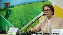 Brasiliens Landwirtschaftsministerin Tereza Cristina, 03/05/2019