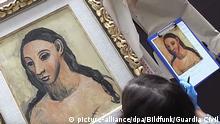 Frankreich   «Kopf einer jungen Frau» von Pablo Picasso