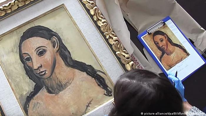 Pablo Picasso's Head of a Young Woman