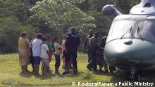 Panama Ngöbe-Buglé Polizeihubschrauber nach Morden von religiöser Sekte