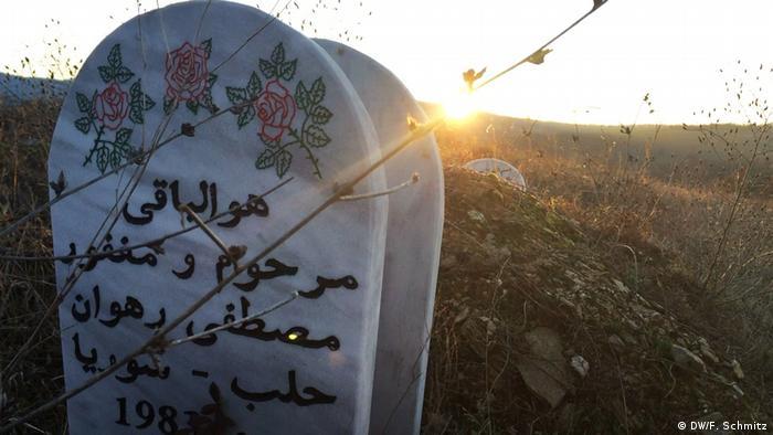 Groby muzułmańskich uchodźców w Grecji