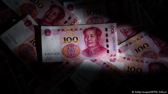 China Symbolbild Wirtschaftsentwicklung (Getty Images/AFP/N. Asfouri)