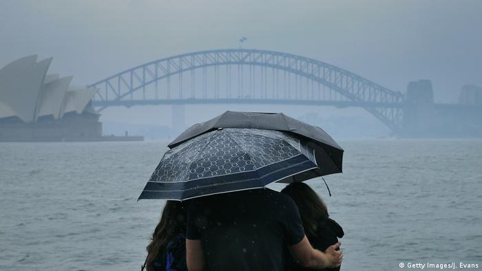 Australien Regen in Sydney (Getty Images/J. Evans)