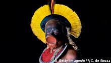 BdTD | Bild des Tages deutsch | Brasilien | Indigener Führer Cacique Raoni Metuktire