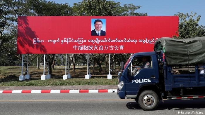 Mynmar   Xi Jinping auf Staatsbesuch