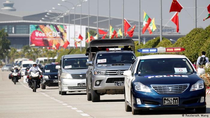 Mynmar | Xi Jinping auf Staatsbesuch (Reuters/A. Wang)