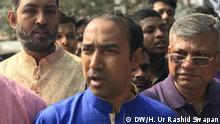 Tabith Awal - Kandidat für Dhaka North City Corporation