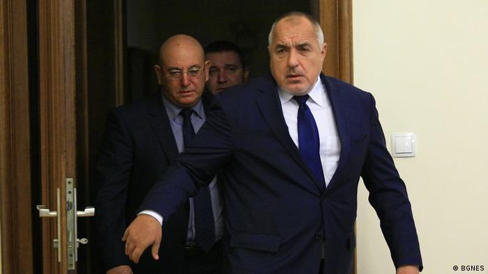 Er steht im Zentrum der Kritik: Bulgariens Regierungschef Boiko Borissow (Foto: BGNES)