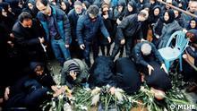 Iran | Trauerfeier | Flugzeug | Abschuss