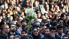 Iran   Trauerfeier   Flugzeug   Abschuss