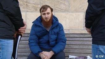 Зелимхан Б., один из пятерых подозреваемых в рамках уголовного дела