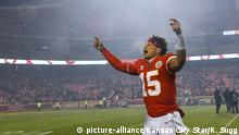 USA Football Patrick Mahomes (picture-alliance/Kansas City Star/R. Sugg)