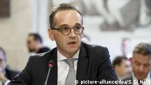 Schweiz Afghanistan-Konferenz in Genf Heiko Maas
