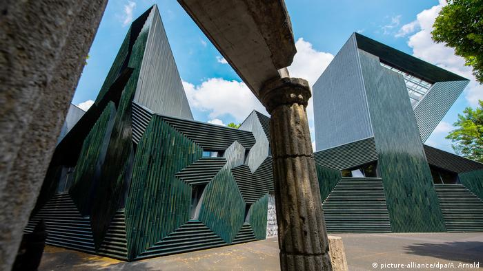 The new synagogue in Mainz (picture-alliance/dpa/A. Arnold)