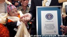 Kleinster Mann der Welt Khagendra Thapa Magar gestorben