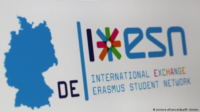 Erasmus logo on the internet