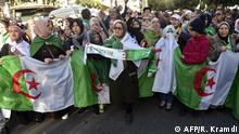 Algerien Proteste gegen Regierung