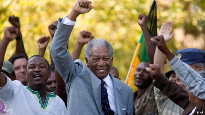 Morgan Freeman in Invictus als Nelson Mandela (Foto: AP)