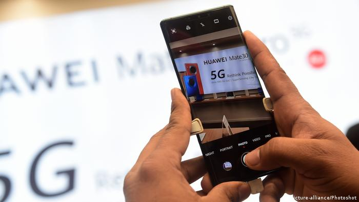 Huawei 5G (picture-alliance/Photoshot)