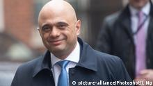 British Chancellor of the Exchequer Sajid Javid (picture-alliance/Photoshot/J. Ng)