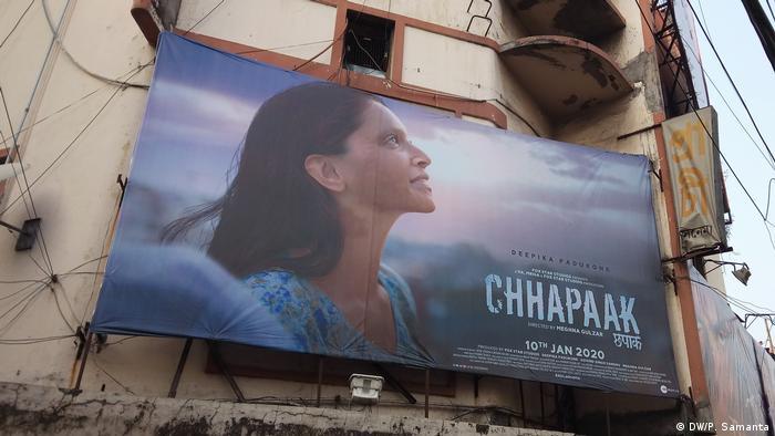 Indien Chhapaak Säureangriff