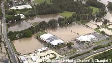 Australien Überschwemmungen Waldbrände