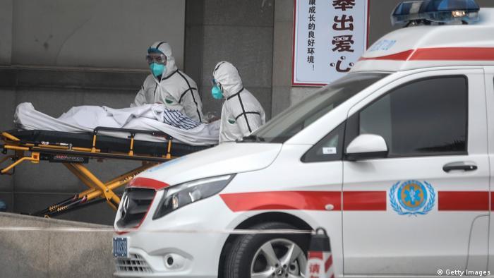 China Krankheit l Mehrere Patienten mit dem Coronavirus infiziert