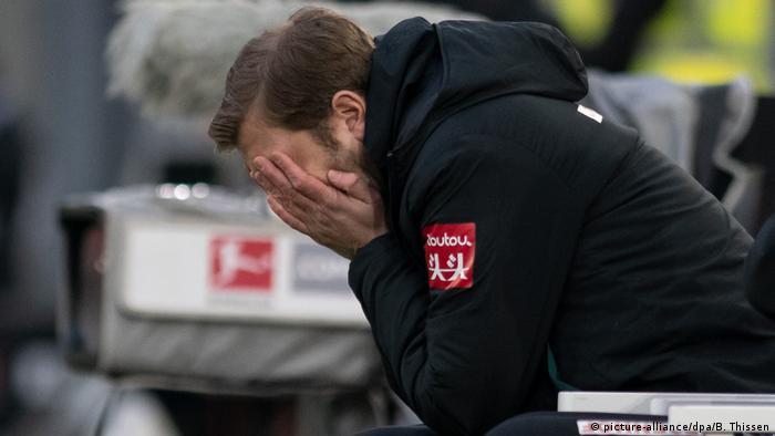 Under pressure: Werder Bremen coach Florian Kohfeldt