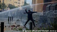 Libanon Proteste Demonstranten
