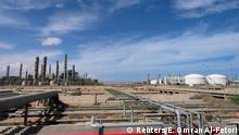Libyen Konflik l Öl - Ölraffinerie Ras Lanuf