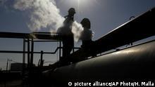 Libyen Konflik l Öl - Ölraffinerie in Brega