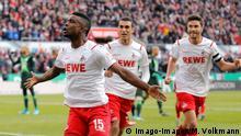 Bundesliga 1.FC Koeln - VfL Wolfsburg | Jubel Cordoba