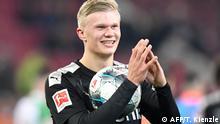 Bundesliga FC Augsburg - Borussia Dortmund   Tor Erling Haaland