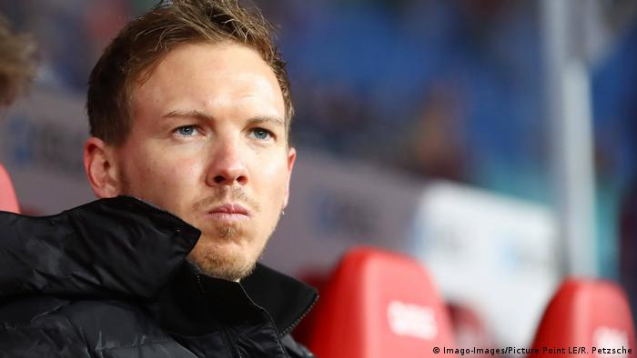 RB Leipzig coach Julian Nagelsmann