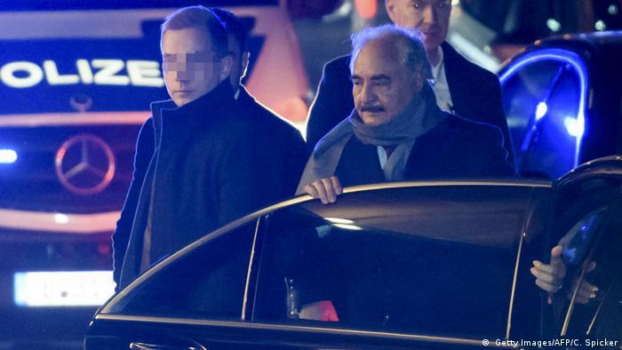Deutschland   Sicherheitsvorkehrungen zur Libyen-Konferenz   Berlin   General Haftar