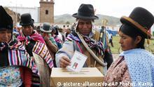 Bolivien | Wahlen
