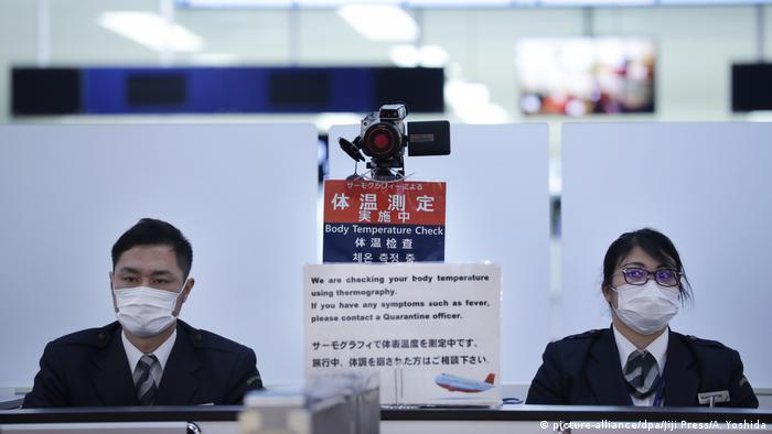 Corona-Virus aus China auch in Japan nachgewiesen
