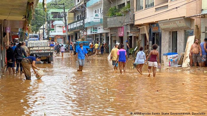 Resultado de imagen de lluvias brasil