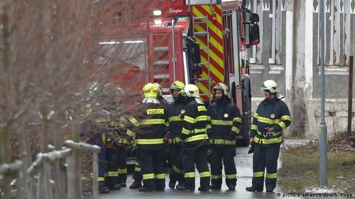 Brand in Pflegeheim Tschechien (picture-alliance/dpa/S. Kube)