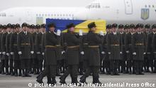 Ukraine Trauerfeier Flugzeugunglück Iran