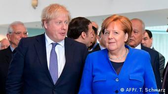 Deutschland Libyen-Konferenz in Berlin hat begonnen | Johnson und Merkel