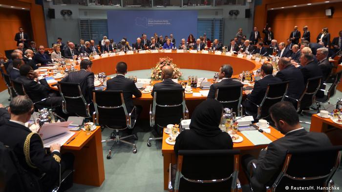 Deutschland Libyen-Konferenz in Berlin hat begonnen   Übersicht (Reuters/H. Hanschke)