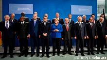 Deutschland Libyen-Konferenz in Berlin hat begonnen