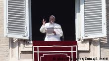 January 19, 2020 - Vatican City (Holy See) - POPE FRANCIS delivers Angelus prayer in St. Peter's Square at the Vatican. ©Evandro Inetti via ZUMA Wire) (Credit Image: © Evandro Inetti/ZUMA Wire  