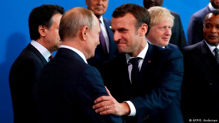 Deutschland Libyen-Konferenz in Berlin hat begonnen   Macron und Putin