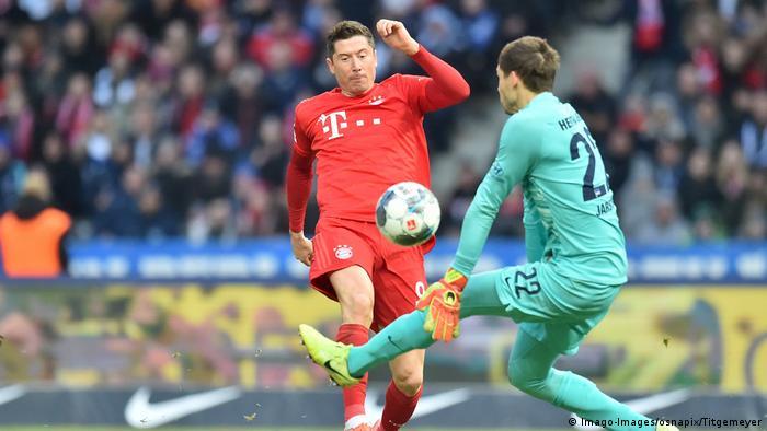 FC Bayern München gewinnt bei Hertha BSC