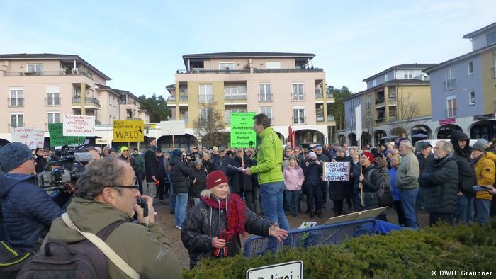Жителі Грюнегайде сперечаються через плани Tesla