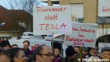 Deutschland l Bürgerinitiativen für und gegen die Tesla-Gigafactory in Grünheide