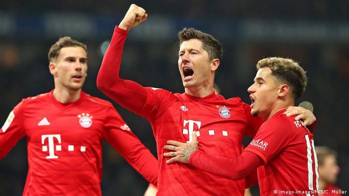 Bundesliga Hertha BSC - Bayern München (Imago-Images/MIS/C. Müller)